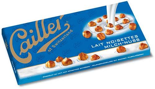 Chocolate from Switzerland