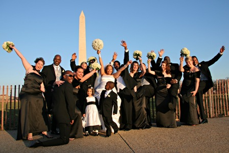 Wedding in Washington DC on the National Mall