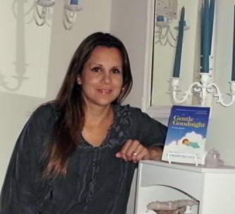 Author Lyssa with Gentle Goodnight