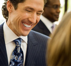 Pastor of Lakewood Church, Joel Osteen